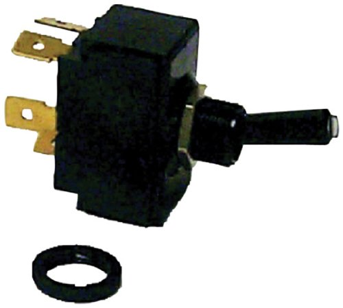 (Sierra TG19520 Tip-Lit Toggle Switch - On-Off-On DPDT)