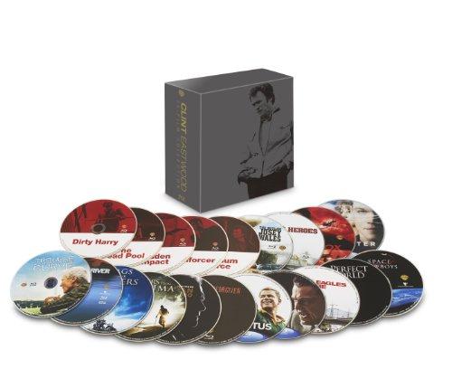 ワーナー・ブラザース90周年記念 クリント・イーストウッド 20フィルム・コレクション ブルーレイ[数量限定生産]の商品画像