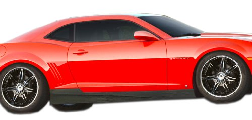 Carbon Creations ED-UDA-808 GM-X Side Skirts Rocker Panels - 2 Piece Body Kit - Compatible For Chevrolet Camaro 2010-2015
