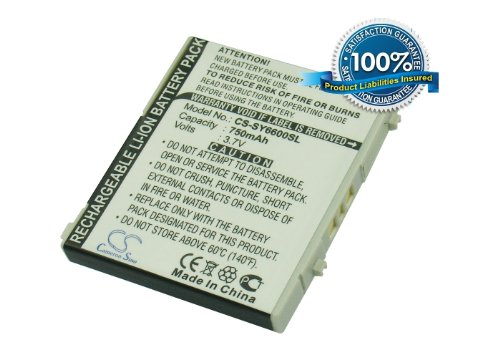 Battery2go - 1 year  - 3.7V Battery For Sanyo SCP-23LBS, ...