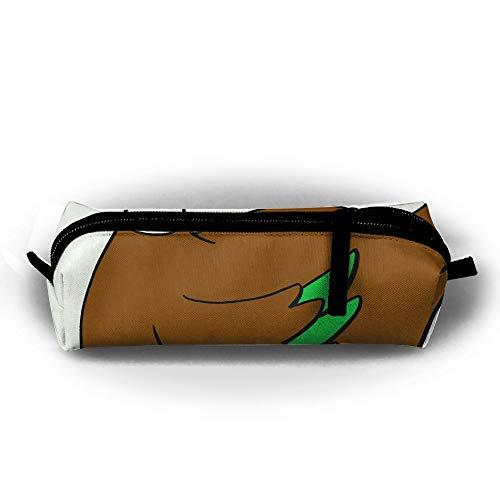 (OLGCZM Duckling Clipart Mallard Duck Pencil Case,Pen Bag Pens, Pencils, Highlighters, Gel Pen, Markers Other School Supplies )