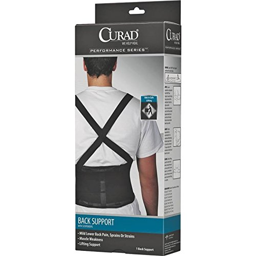 Curad Back Support w Suspenders