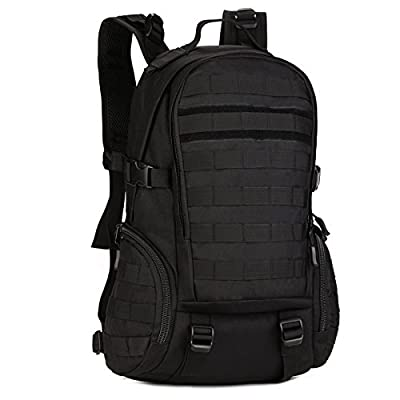 SUNVP 35L Tactical Daypack Military Backpack Gear MOLLE Student School Bag Assault Pack Rucksack For Hunting Camping Trekking Travel