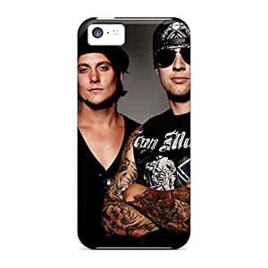 Shock Absorbent Hard Cell-phone Case For Iphone 5c With Customized High-definition Avenged Sevenfold Image AnnaDubois