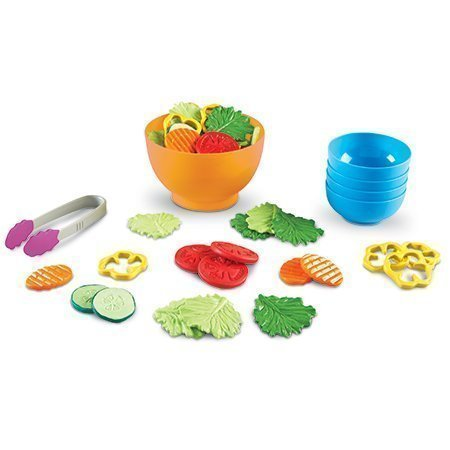 Learning Resources Garden Fresh Salad Set, 38 Pieces