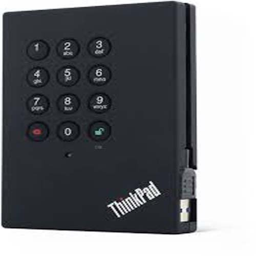 Lenovo ThinkPad USB 3.0 Secure - Hard drive - 1 TB - external ( portable ) - USB 3.0 - 5400 rpm - * (Lenovo Secure Hard Drive)
