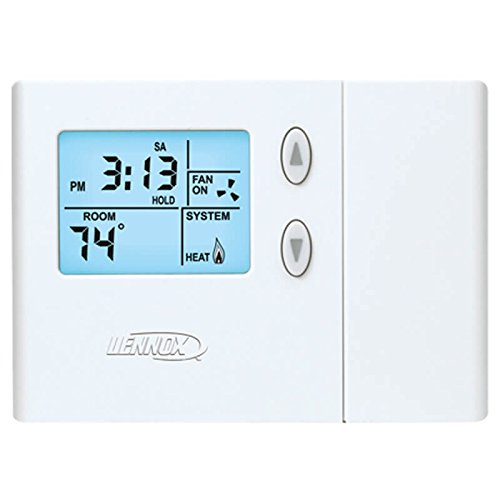 (Lennox 51M34 - Programmable Thermostats with Manual Changeover)