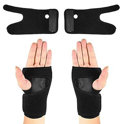Pair Wrist Support Belt Sports Wrist Support Detachable Steel Wristband Steel Wristband Estimated Price £5.29 -