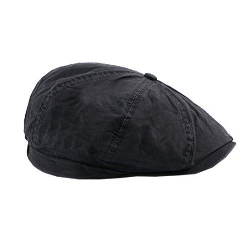 Ajustable Unisexe Visière Coton Gris Plate Béret Chapeau Casquette En Acvip Artiste 4nwfBnx