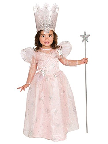 Wizard of Oz Glinda The Good Witch Costume, Toddler 1-2 (75th Anniversary Edition) ()