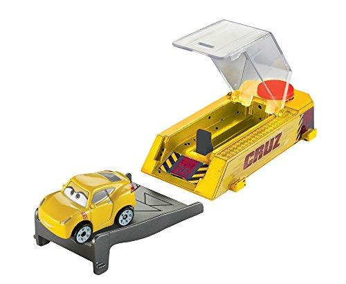 Disney Pixar Cars Mini Racers Cruz Ramirez Launcher