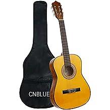 Classical Guitar Acoustic Guitar Kids 3/4 Size 36 inch Nylon Strings Guitar Starter Kits for Children Beginners Students