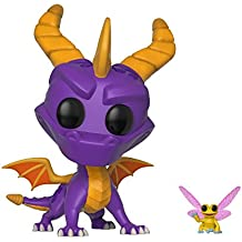 Funko Pop and Buddy Dragon-Spyro and Sparx, Multicolor