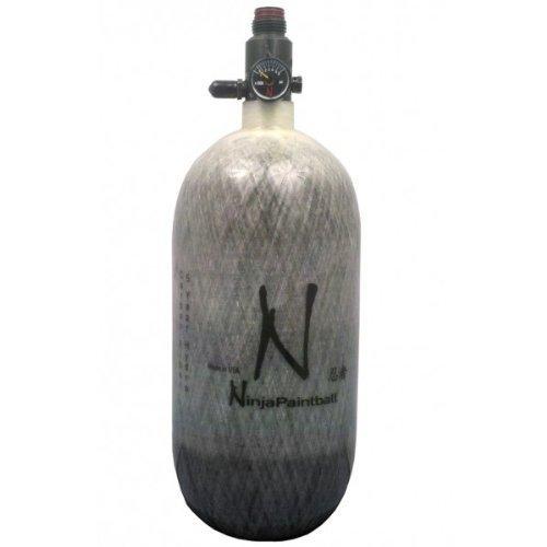 Ninja Ultralite 4500psi Paintball HPA Tanks (Click-a-Color/Size) (Grey, 90ci)