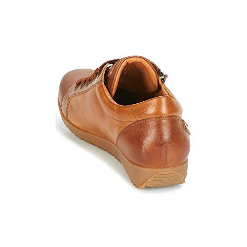 Pikolinos Marron W67 Femme Lisboa i18 Basses Cuero Sneakers cuero xqpfxUv