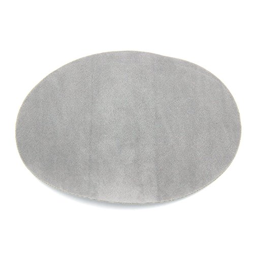 repair-patches-4-pcs-elbow-knee-velvet-iron-on-patches-round-light-gray-by-beaulegan