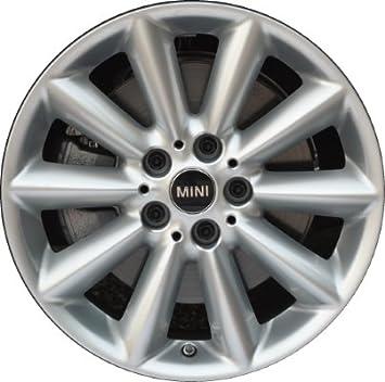 Mini Genuine 17 Wheel Disc Rim Alloy Bright Silver For Clubman F54