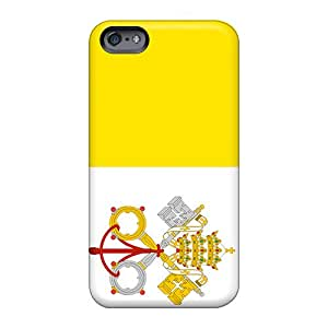 Apple Iphone 6 Plus PyV24199FhHp Support Personal Customs High-definition Vatican Flag Pictures Shockproof Hard Phone Cases -IanJoeyPatricia