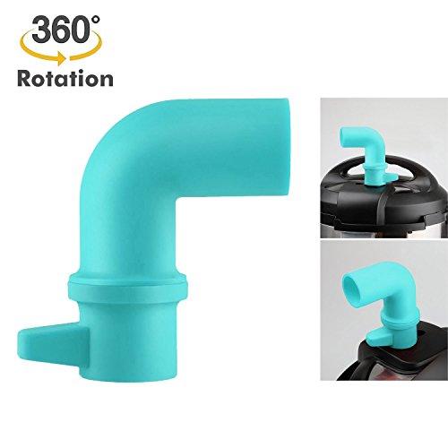 Adjust Release - Cupboards/Cabinets Savior, Original Steam Release Accessory for Instant Pot or Pressure Cooker - 360° Rotating Design to Adjust Direction Freely, Blue