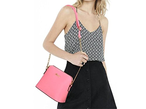 Borsa Pink Delle Catena Funziona Bao Shopping Di Span Spalla Diagonale La Nuova Semplice Donne Modo Della Cinghia Singola UFxqTd