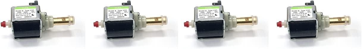 Ulka EX5 Solenoid Vibratory Pump 120V 41W - Brass Output - Suitable for Rancilio Silvia Espresso Machine (4)