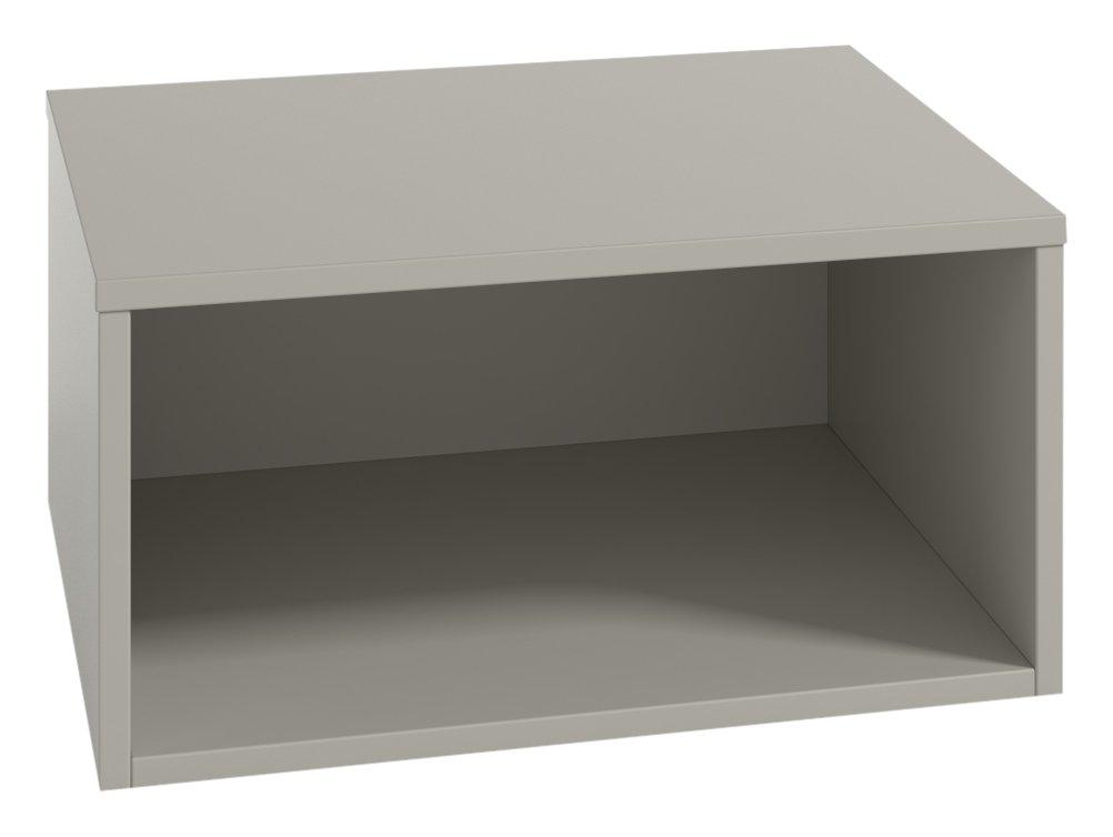 LOWE mobili UNO-Secchio combinabile con altre scatole, 30 x 30 x 30 cm, colore: bianco Tobisa 12011