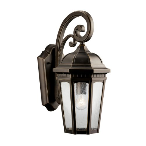 Kichler Lighting 9033RZ Courtyard Incandescent