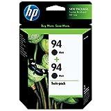 HP 94 Black Retail Twin Pack