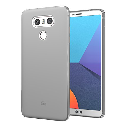 LG G6 Case, Cimo [Matte] Premium Slim Protective Cover for LG G6 (2017) - Smoke