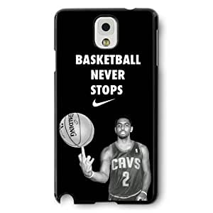 Onelee(TM) - Customized Black Hard Plastic Samsung Galaxy Note 3 Case, NBA Superstar Cleveland Cavaliers Kyrie Irving Samsung Galaxy Note 3 Case