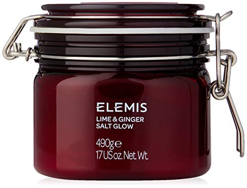 (ELEMIS Lime and Ginger Salt Glow, Invigorating Salt Scrub, 17 Ounce, Pack of 1)