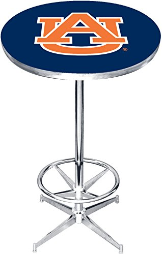 Imperial Officially Licensed NCAA Furniture: Round Pub-Style Table, Auburn Tigers