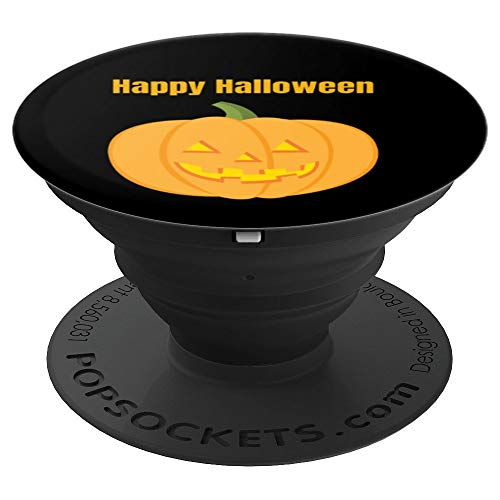 Happy Halloween Jack O Lantern - PopSockets Grip and Stand for Phones and -