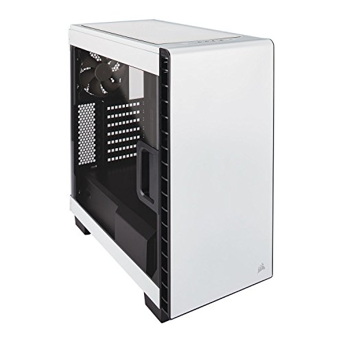 Corsair Carbide 400C Computer Case - Mid-tower - White - Ste