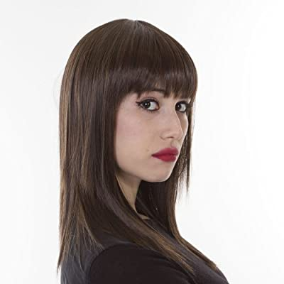 Lady Gaga Inspired Straight Razored Mid Length Wig | Heat Stylable Hair Like Fibre