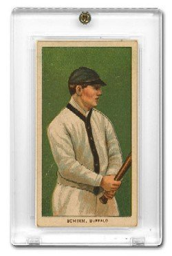 1 (One) Pro-Mold T206 Tobacco Card Holder - Allen and Ginter (Screwdown) Baseball & Other Sports Cards Collecting Supplies