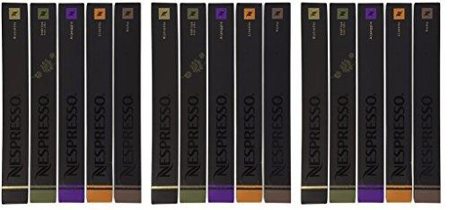 150 Nespresso OriginalLine Capsules hGOLVi: 30 Indriya, 30 Ristretto, 30 Roma, 30 Arpeggio, 30 Livanto by Nespresso