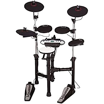 Amazon com: Carlsbro CSD130 Electronic Drum Set with Realistic Kick