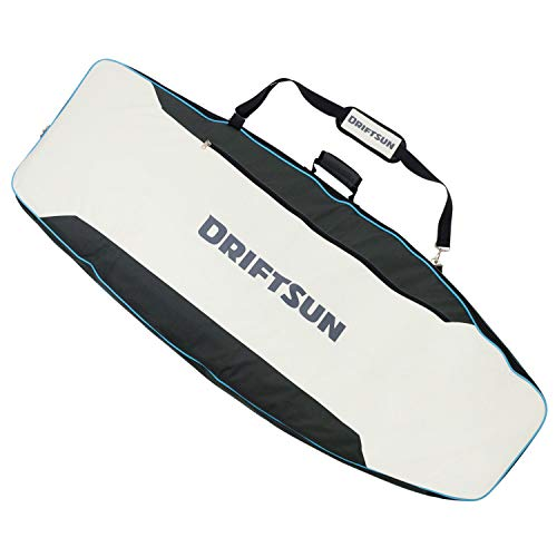 Driftsun 62 x 24 Inch WakeSurf Board Bag with Durable Padded Shell, Detachable Strap and Waterproof Inner Lining