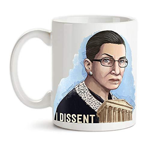 cbec6235c98 KeepRolling - Notorious RBG Mug | Ruth Bader Ginsburg | Justice Ginsburg |  Dissent Mug | RBG Quotes | RBG Coffe Cup | Supreme Justice, 11oz Ceramic  Coffee ...