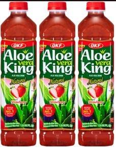 strawberry aloe vera juice - 6