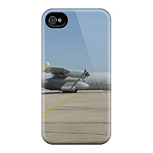 Hot Style VfdiNuB588ABSGg Protective Case Cover For Iphone4/4s(swedish Hercules C 130)