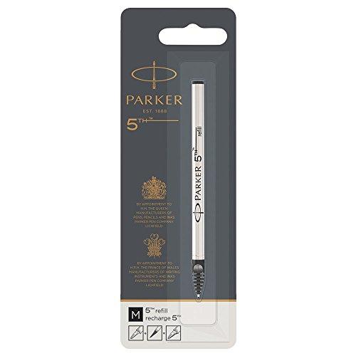 Parker 5th Technology Pen Ink Refill, Medium, Black