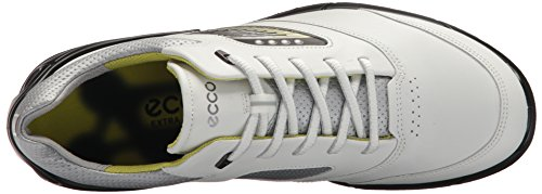 ECCO Mens Shoe ECCO Black Base White Golf Mens Hydromax One PwW5fq