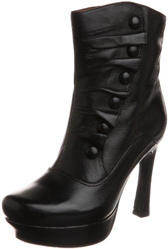 Earthies Women's Black Ferrara 7 B(M) (Ferrara Dress)