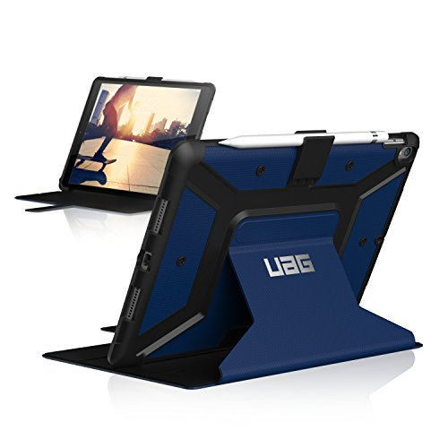 URBAN ARMOR GEAR UAG Folio iPad Pro 10.5-inch/iPad Air 10.5-inch (3rd Gen, 2019) Metropolis Feather-Light Rugged [Cobalt] Military Drop Tested iPad Case