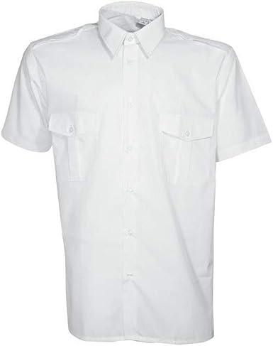 Camisa piloto blanca – CITYGUARD: Amazon.es: Ropa y accesorios