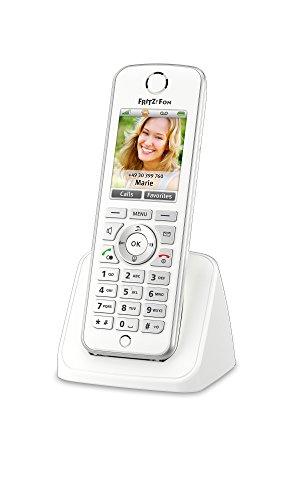 AVM FRITZ!Fon C4 Edition International - Schnurloses DECT-Telefon fuer alle FRITZ!Box-Modelle mit integrierter DECT-Basisstation