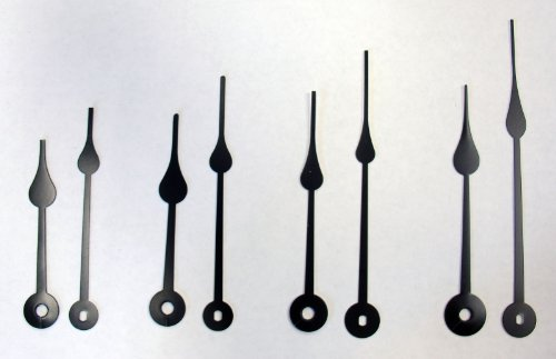 Spade Clock Hands Arms Assortment