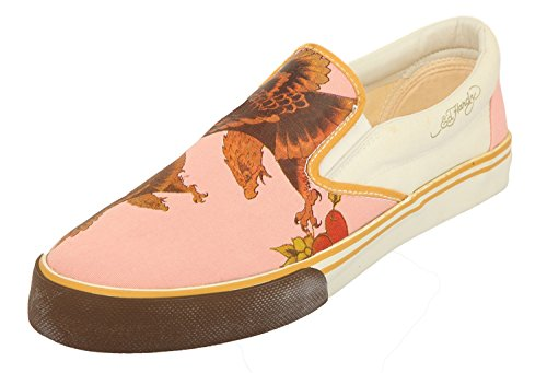 Ed Hardy Herren Sneakers Rosa/beige EAGLEM-PINK